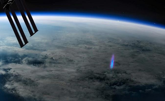 Аномальное явление наЗемле запечатлели изкосмоса