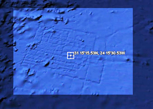 Гугль нашел Атлантиду