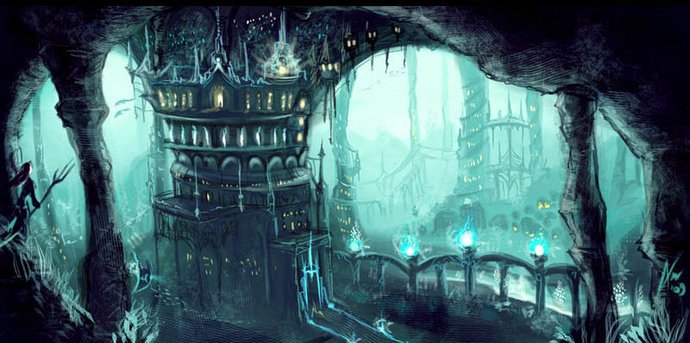 Ктоны - могучие жители подземного царства