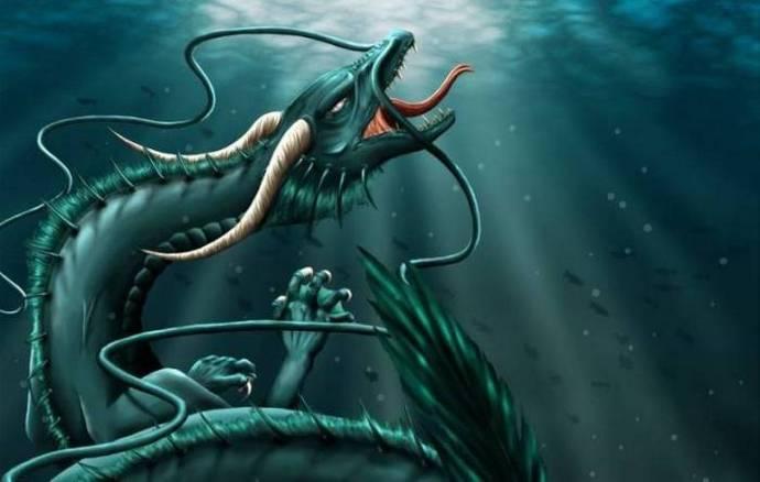В глубинах озера Кок-Коль обитает ужасный монстр