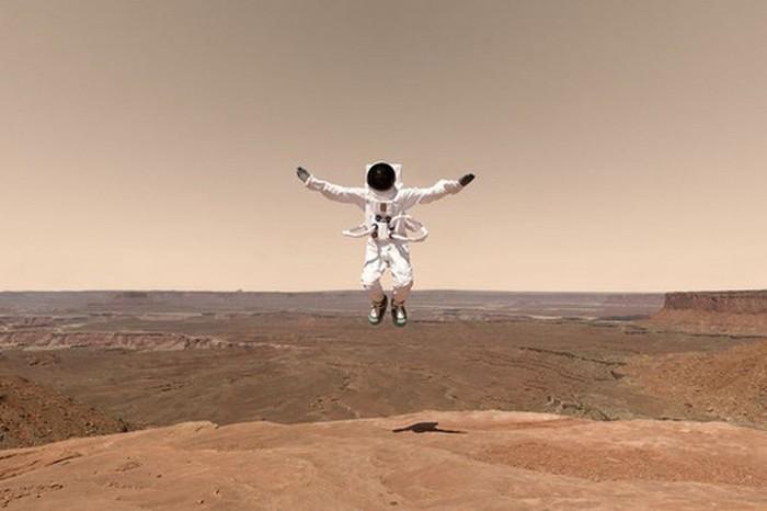 Белые кролики, марсианские пейзажи Земли и наивные ухищрения НАСА (5 фото)