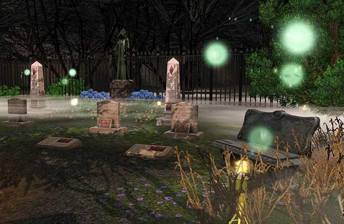 Специалисты изучат загадочное свечение на кладбищах (7 фото)