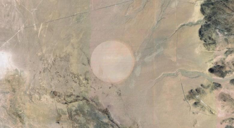 Рядом с секретной базой США «Зона-51» образовался «круг смерти»