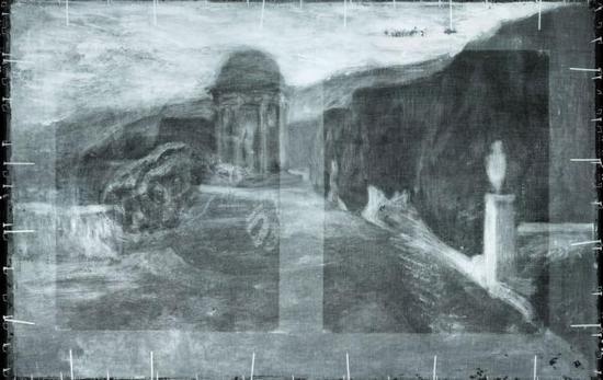 Для своих картин Пикассо брал нередко уже использованные холсты