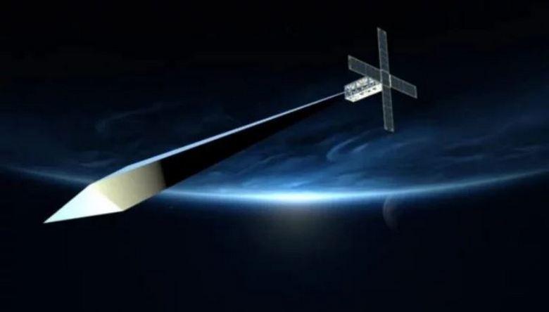 Надувная скульптура на орбите Земли никак не может развернуться