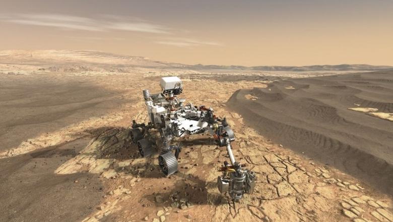Марсианский спутник MAVEN снизит высоту своей орбиты