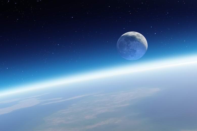 Атмосфера Земли, оказывается, простирается далеко за пределы Луны