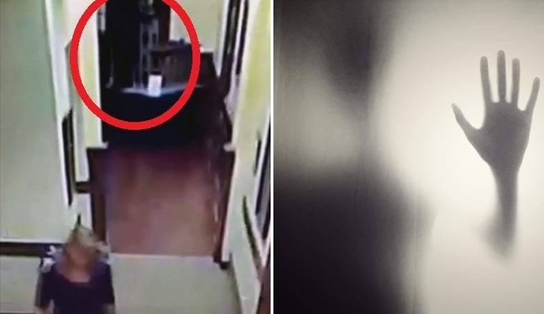 Непонятное движение попало на камеру наблюдения в библиотеке