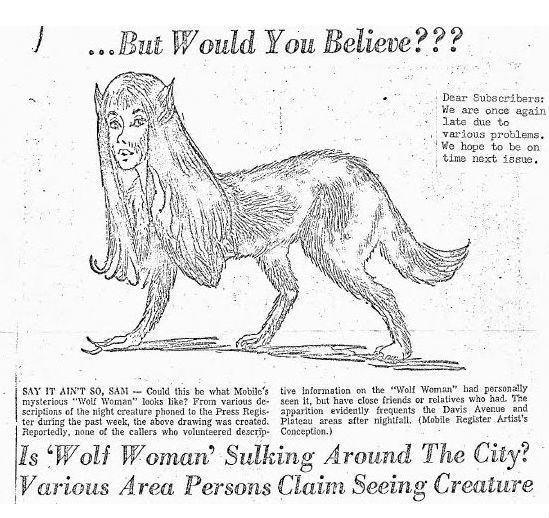 Загадочная женщина-волк из Алабамы