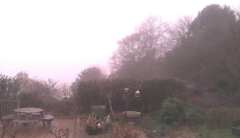 Непонятный розовый туман окутал британские города