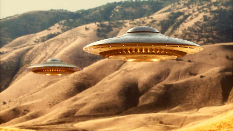 Три свежих видеоролика об НЛО