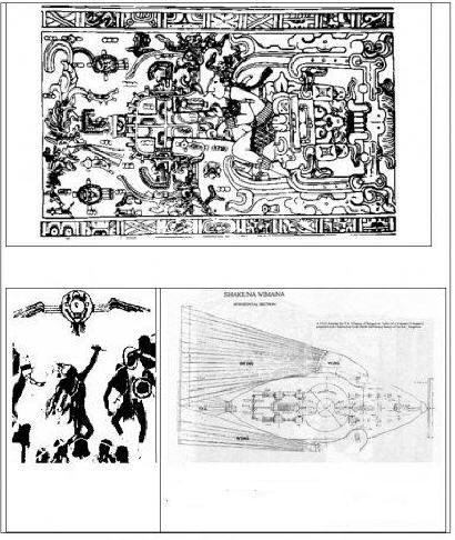 Схемы изображения летательных