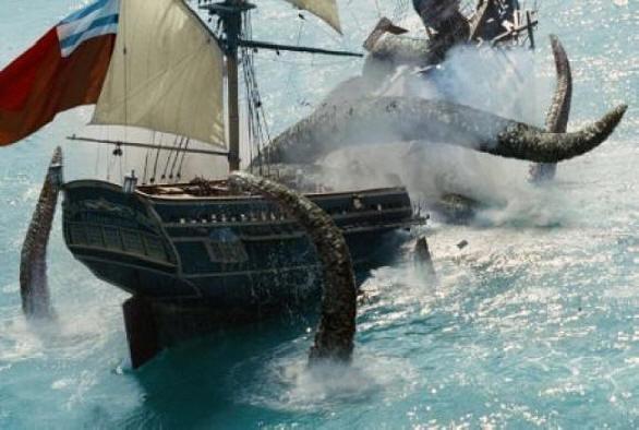 Ужас морских глубин - кракен