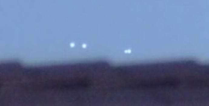 Над американской авиабазой разлетались НЛО