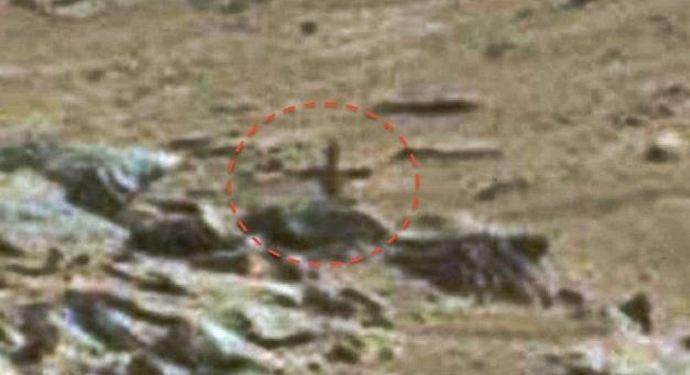 Онлайн-археологи вновь нашли на Марсе нечто необычное
