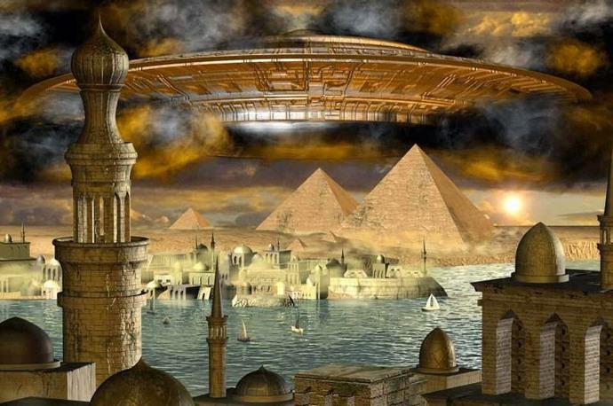 Инопланетный разум следит за нами с глубокой древности