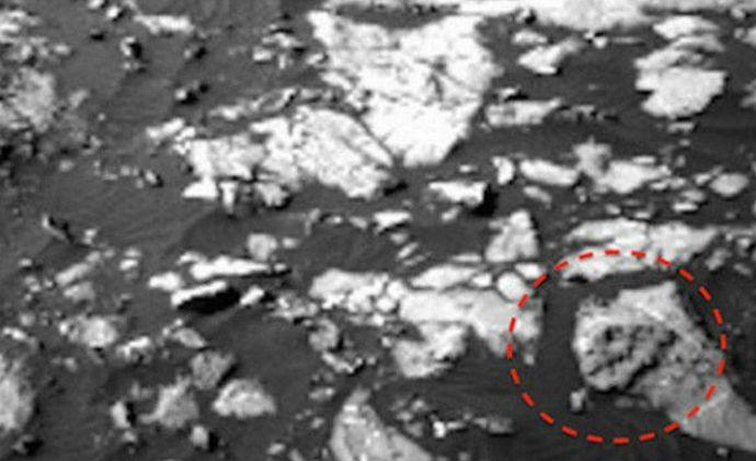 Новые находки марсианских археологов (3 фото + видео)