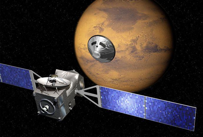 Марс продолжает притягивать землян