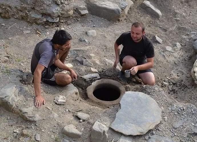 В Грузии обнаружили святую воду возрастом 1300 лет