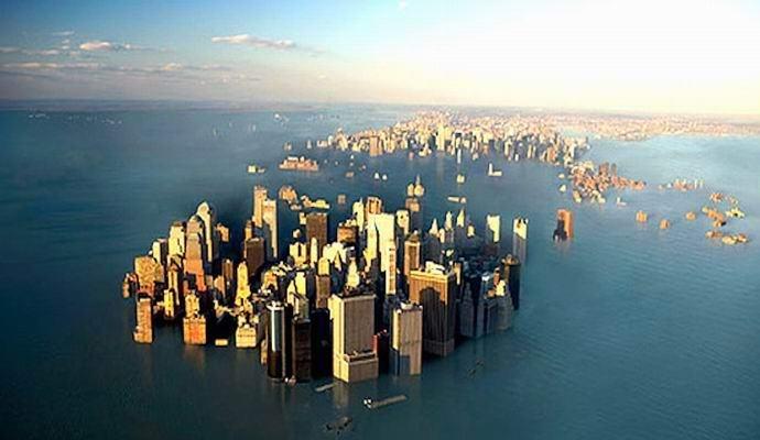 Изменение климата оставит без крова миллионы американцев (2 фото)