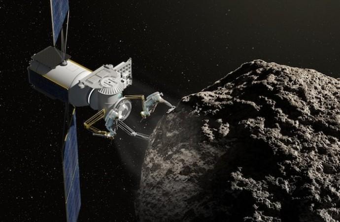 Создан телескоп для поиска в астероидах драгоценных металлов (2 фото)