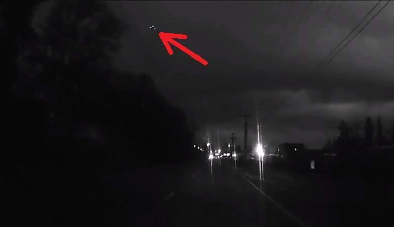 Мифическое американское супероружие «TR-3B Astra» попало на камеру видеорегистратора