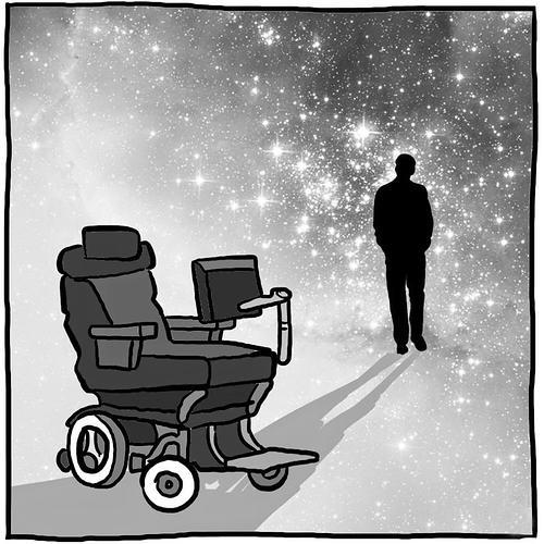 Жизнь Стивена Хокинга была и остается загадкой