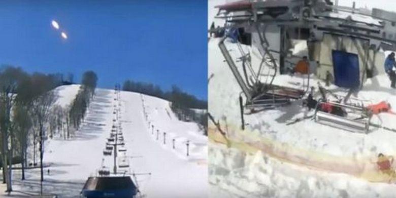 Трагическое событие на горнолыжном курорте Гудаури