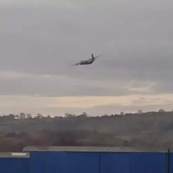 В Дербишире заметили пару самолетов-призраков