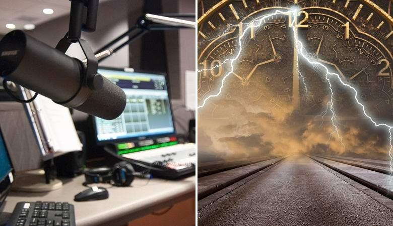 Сигнал из будущего, похоже, попал в радиоэфир