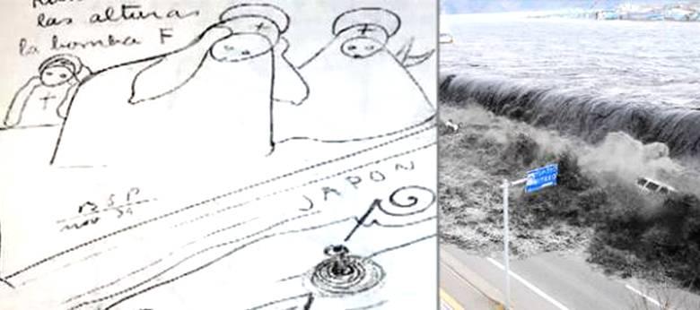 Пророческие рисунки Бенджамина Солари Парравичини