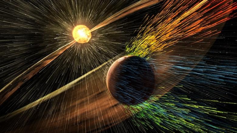 Загадочные вспышки на далекой Красной планете