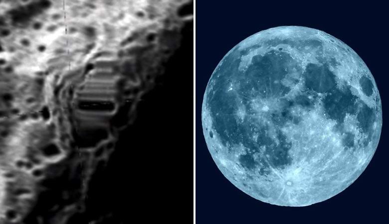 Огромная симметричная аномалия обнаружена на Луне