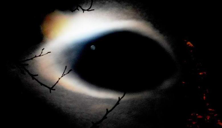 «Черную дыру» запечатлели в небе над Кировском