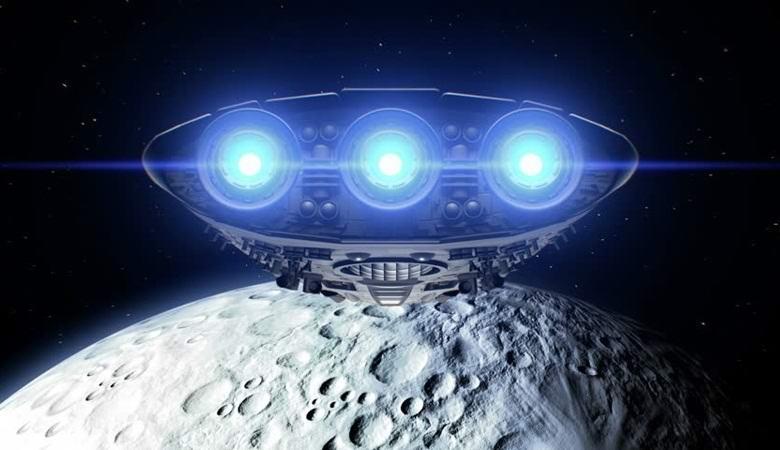 Уже не первое видео: неопознанный объект взлетает с Луны