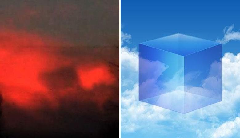 Загадочный «небесный куб» запечатлели над Огайо