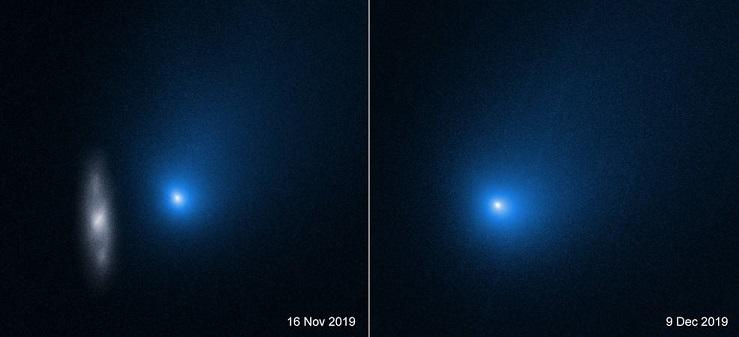 Межзвездная комета 2I/Borisov распадается на части