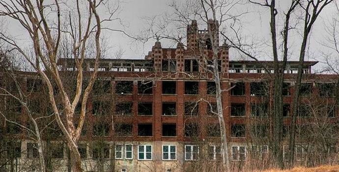 Американский заброшенный санаторий превратят в отель с привидениями