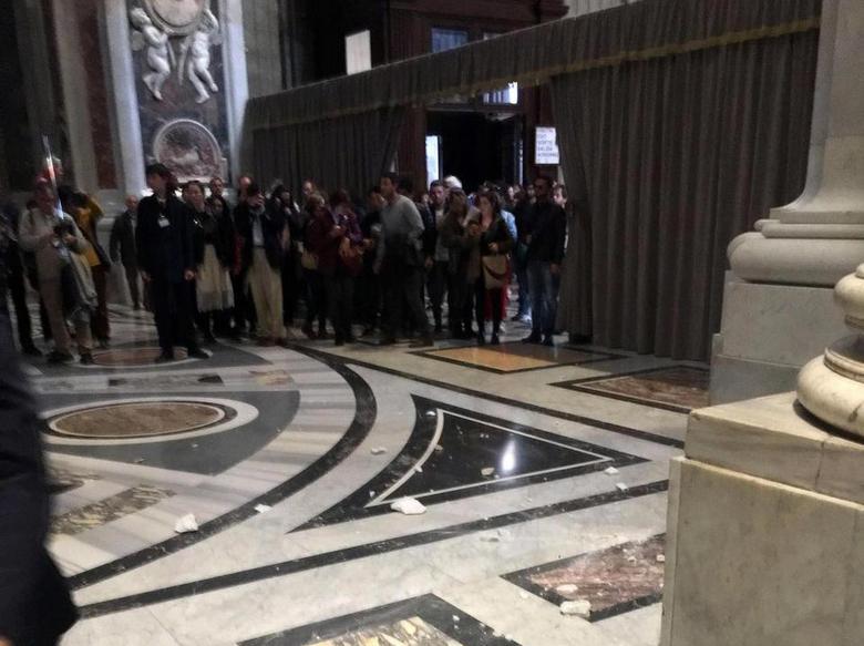 Знамение после громкого заявления Папы Римского