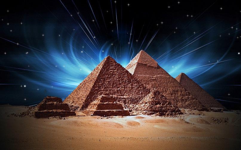 Координаты пирамиды Хеопса и значение скорости света имеют одинаковый порядок цифр