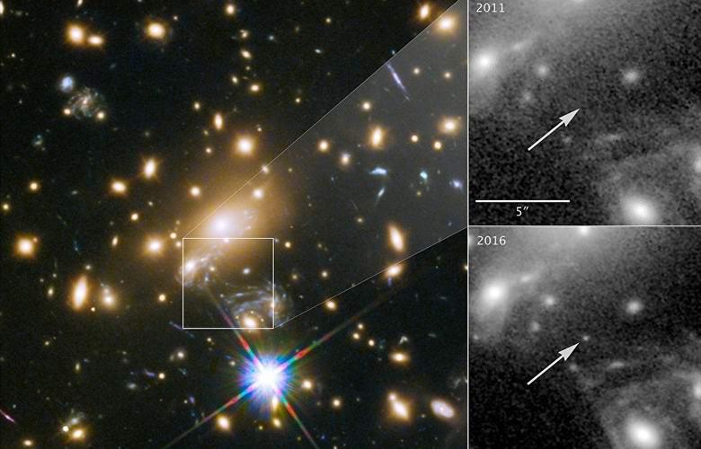 Ученые сфотографировали рекордно далекую звезду