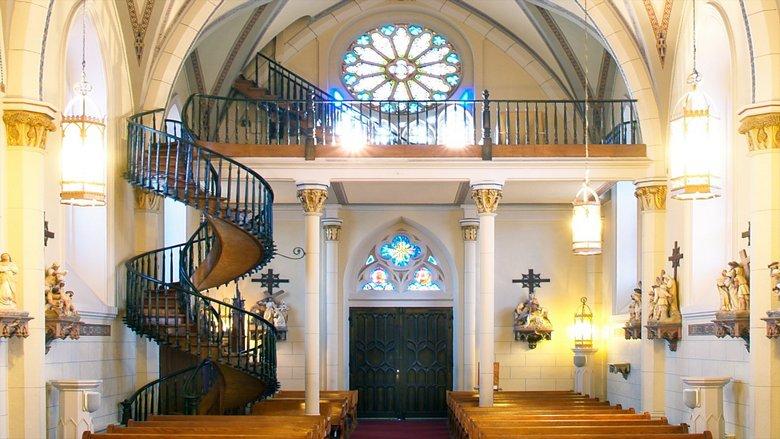 Тайна одной уникальной винтовой лестницы