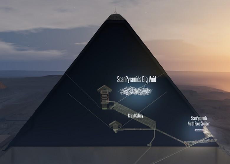Под плато Гизы в Египте найдена лестница, уходящая под землю и другие артефакты