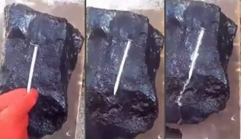 В Мьянме нашли  камень, плавящий металл