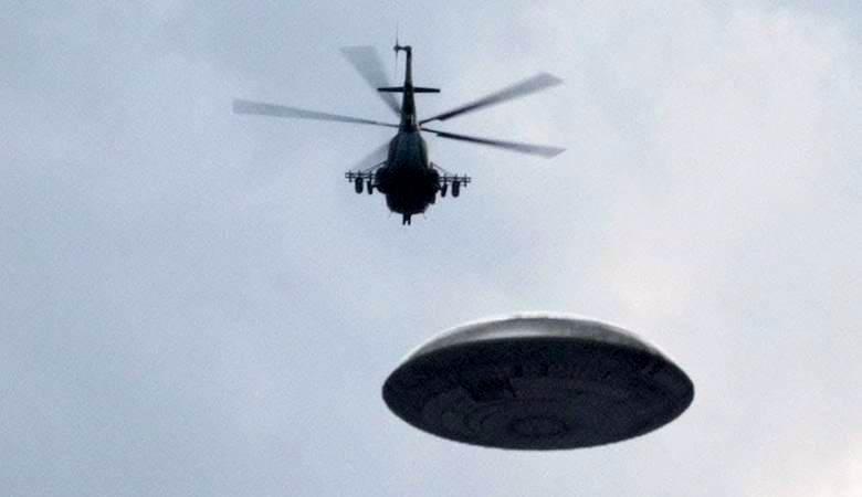 Загадочный НЛО и черные вертолеты над Лос-Анджелесом