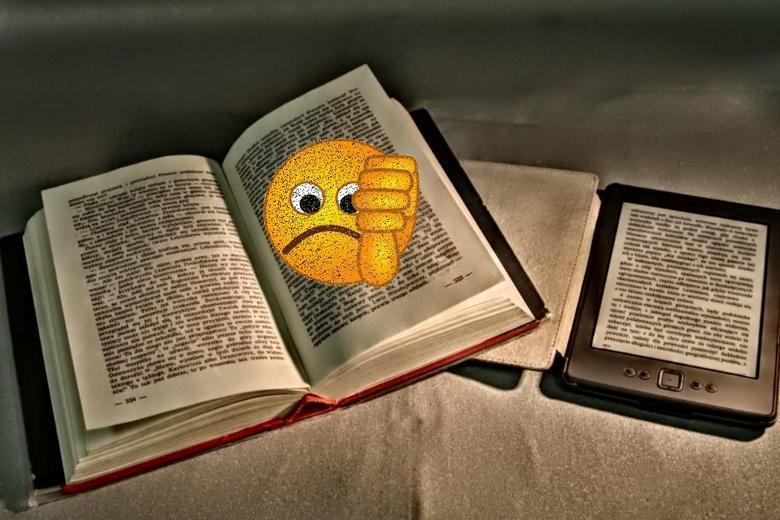 Книги бумажные и электронные: противостояние нарастает
