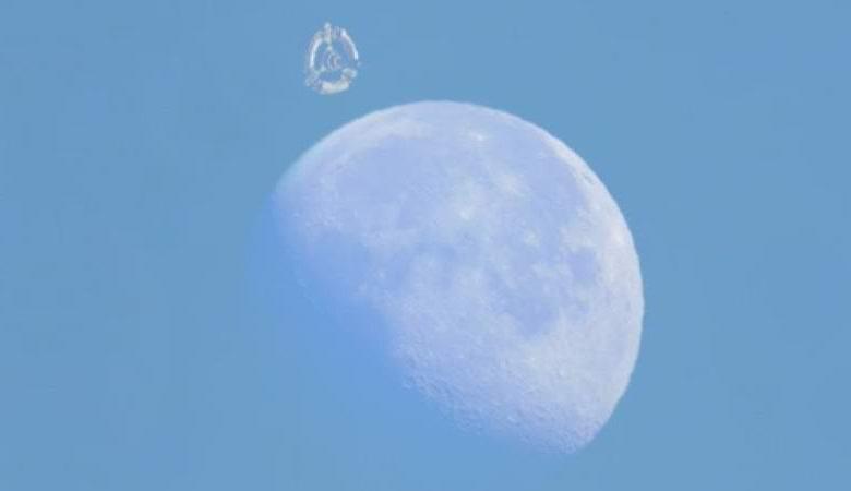 Видео с «орбитальной станцией» возле Луны удивило уфологов и конспирологов