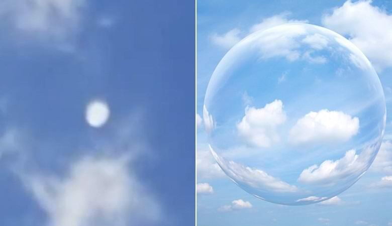 Загадочная белая аномалия пролетела над Техасом