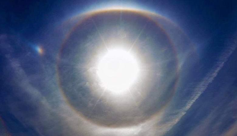 «Божий глаз» возник над Манитобой
