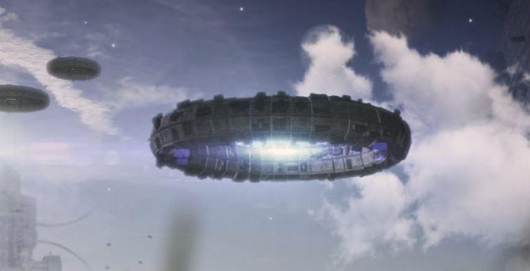 В ночном небе над Одессой засняли НЛО в форме пончика (ВИДЕО)